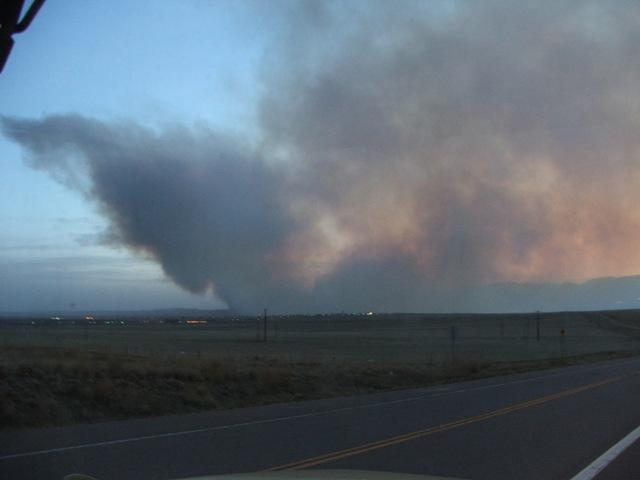 Ft.  Carson fire 4/08