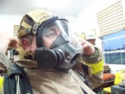 ME in a SCBA for the first time