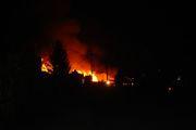 Echo Valley Pallet Yard Fire