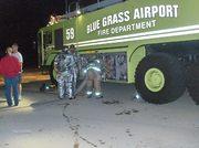 Big Green Fire Truck