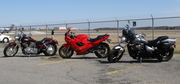 Our Bikes at the Airport