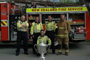 371 crew with the bledisloe cup
