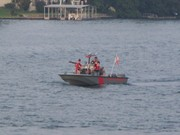 Fire Boat 2 makes its rounds