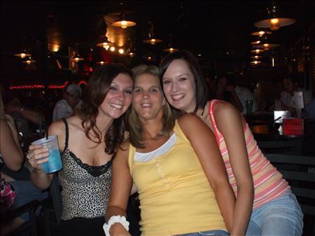 christie, nina and i