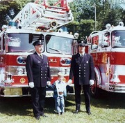 3 Generations of Firefighters