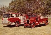1980 Mack CF & 1927 Buffalo Pumper