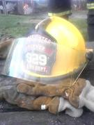 My Fire Helmet and set of gloves