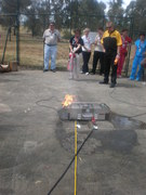 Fire Extinguisher Training with the Bullex ITS