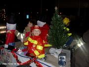 My boy on Christmas float 2008