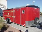 Las Vegas FD Tech rescue trailer