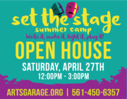 Set the Stage Summer Camp open house