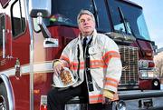 John Cowin Fire_Chief_Cowin retired