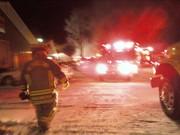 New Carlisle Pike Fire January 2009