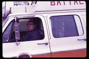 Donald in original Battalion Four vehicle