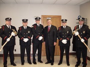 Gov and Honor Guard