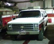REPSONSE 431 1985 CHEVY 2500