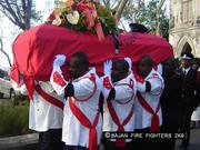 Duncan Walcott's Funeral