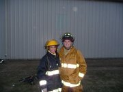 My brother and I at Sheldon BT