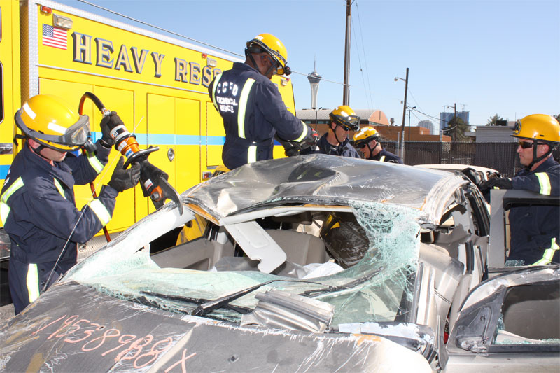 Clark County, NV Extrication