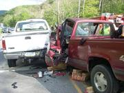 accident outside  orbisonia, pa