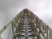 going up ariel