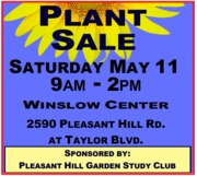 Annual 'Mothers Day' Plant Sale