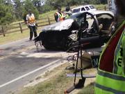 10-50 Lobellia Road head on collision