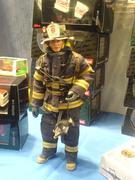 Fireman miniature..