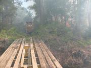 portable bridge to move heavy equipment