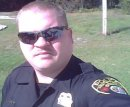 Me in uniform just after we lost an Officer