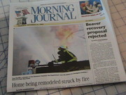 My Photo front page Morning Journal