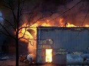 mortin buliding fire