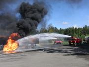 ARFF live fire training