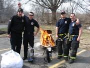 Fire Extinguisher Training at Latham FD