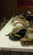 pic of the helmets donated