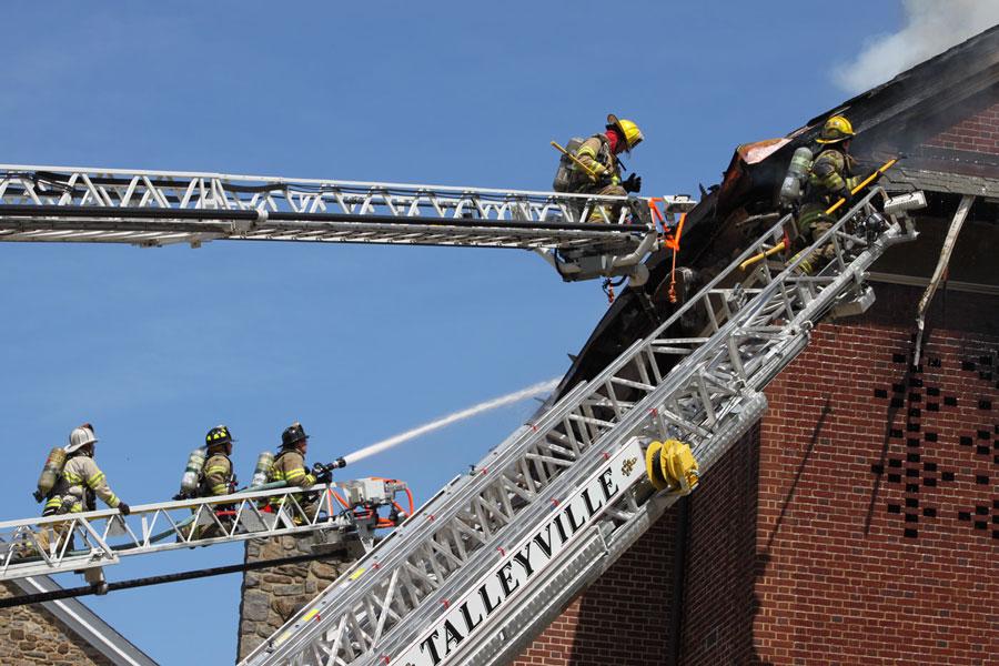 3 Alarm School Fire: $1 Million in Damages