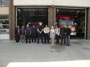 Down Town Fire Dept Medicine Hat, Suffield Canada