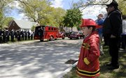 Funeral for Westland, Michigan Firefighter