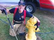 Cleaning hydrants