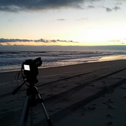 Trying some time lapse photography.  Might have been a a good idea to wait till it was warmer lol