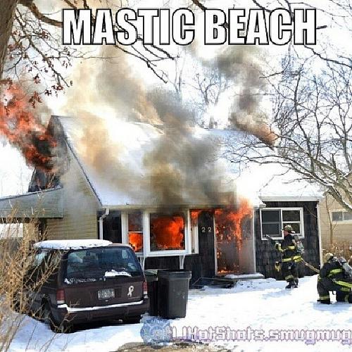 Pinewood Dr. Mastic Beach 02/10/2014 12:50 p.m.