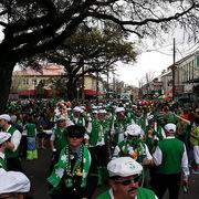 Saint Pattys Parade Nawlins style.