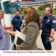 Working with the Hermosa Beach Firefighters