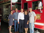Fire Marshal Gettemeier Celebrates 40 years