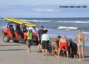Brevard County Multi Agency's Respond to Ocean Drowning Victim