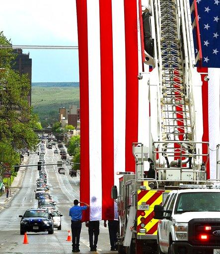 Saluting Fallen Montana Deputy