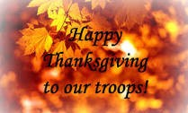 AAVF - Happy Thanksgiving To Our Troops