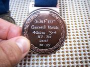 ビクトリア州マスタス優勝400メートル銅メートル