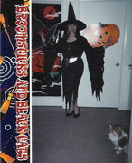 Me as witch with Toby