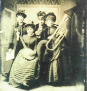 Ladies band.